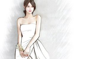 Lộ thiết kế váy cưới vừa thanh lịch, vừa tinh tế của Nhã Phương