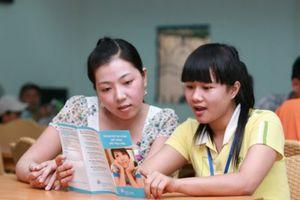 Nữ công nhân được chăm sóc sức khỏe sinh sản tốt hiệu quả làm việc sẽ tăng