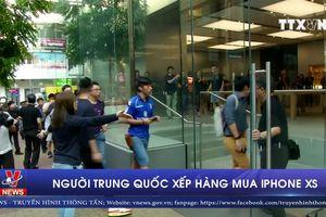 Người Trung Quốc xếp hàng mua Iphone XS
