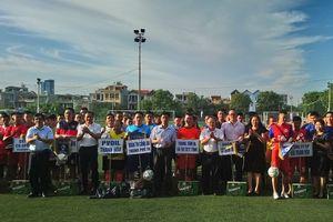 25 đội tham dự Giải bóng đá khối cơ quan doanh nghiệp TP Thanh Hóa mở rộng lần thứ IV