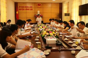 Kiểm tra công tác quản lý Nhà nước về an toàn thực phẩm trên địa bàn huyện Vĩnh Lộc