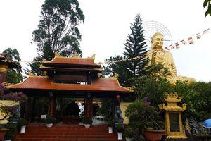 Chiêm bái Thiền Viện Vạn Hạnh Đà Lạt: Ảo mờ trong mưa sương
