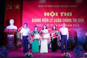 Giảng viên Phạm Thị Minh Chính đạt giải Nhất Hội thi Giảng viên lý luận chính trị giỏi khu vực phía Bắc