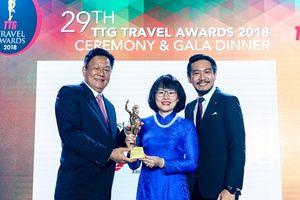 Vietravel lần thứ 7 nhận giải Công ty du lịch tốt nhất Việt Nam