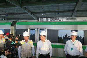 Chạy thử toàn tuyến đường sắt Cát Linh-Hà Đông
