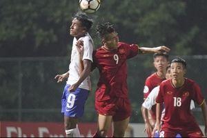 U16 Việt Nam thua U16 Ấn Độ trong trận ra quân