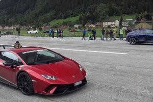 Màn so tài tốc độ của Lamborghini Urus, Aventador SV và Huracan Performante