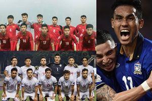 Bảng xếp hạng FIFA tháng 9/2018: Việt Nam = Thái Lan + 20