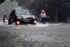 TP Hà Tĩnh: Chi tiền tỷ giải quyết bài toán chống ngập lúc mưa