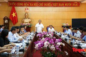 Thứ trưởng Lê Khánh Hải làm việc với lãnh đạo UBND tỉnh Bắc Kạn
