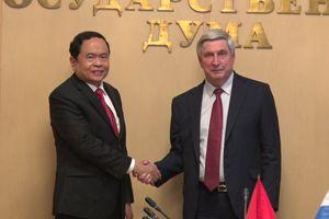 BẢN TIN MẶT TRẬN: Củng cố, tăng cường Đối tác chiến lược toàn diện Việt Nam và LB Nga