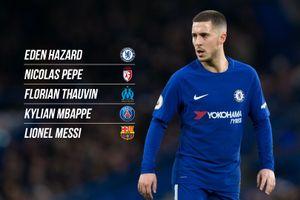 Vượt Messi, Pepe cùng Hazard sở hữu chỉ số tấn công tốt nhất châu Âu