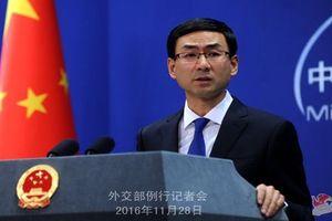 Trung Quốc kêu gọi Mỹ rút lại lệnh trừng phạt với đơn vị quân đội