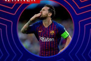 Messi hay nhất lượt đầu Champions League