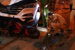 Đại úy CSGT lái ôtô đâm xe máy từ phía sau làm chết 2 người