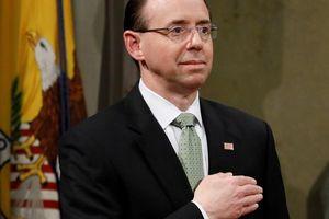 Thứ trưởng tư pháp Mỹ muốn lật đổ ông Trump?