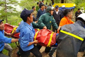 Du khách Hàn Quốc tử vong khi nhảy thác tại Đà Lạt