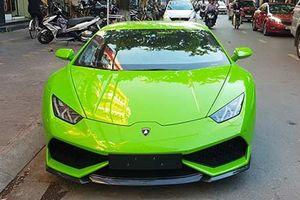 Dân chơi Hải Phòng tậu siêu xe Lamborghini Huracan 16 tỷ