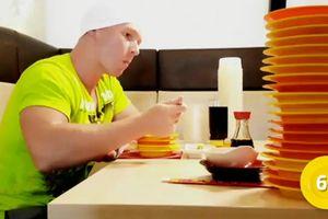 Ăn cả trăm đĩa sushi một lần, vận động viên Đức bị nhà hàng 'cấm cửa'