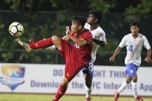 U16 Việt Nam bất ngờ thua U16 Ấn Độ ở vòng chung kết U16 châu Á 2018