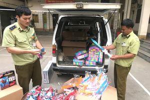 'Nóng' đồ chơi trẻ em nhập lậu qua biên giới trong dịp Tết Trung thu