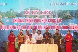 Sở Du lịch và Bộ đội Biên phòng tỉnh Quảng Ninh ký kết chương trình phối hợp