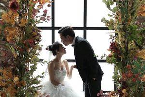 Chung Thanh Phong hé lộ ảnh cưới lãng mạn của Trường Giang - Nhã Phương