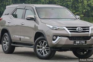 Toyota Hilux, Fortuner và Innova được nâng cấp tại Malaysia