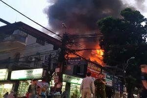 Xử lý như thế nào vụ hỏa hoạn gần Bệnh viện Nhi Trung ương?