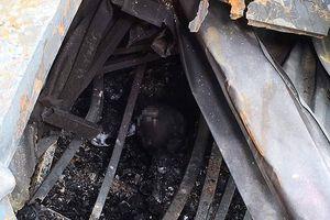 Phát hiện 2 thi thể người bị chết cháy ở dãy nhà trọ của ông Hiệp 'khùng'