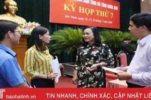 Văn phòng HĐND tỉnh Hà Tĩnh tiếp tục đổi mới, nâng cao chất lượng tham mưu, phục vụ