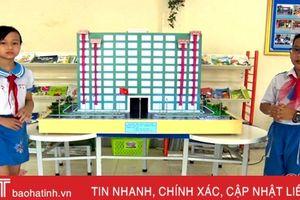 Hà Tĩnh đạt 4 giải Cuộc thi Sáng tạo thanh thiếu niên, nhi đồng toàn quốc