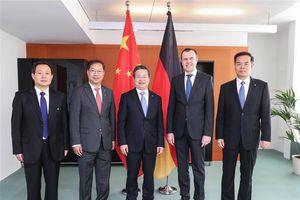 Trung Quốc và Đức đẩy mạnh hợp tác an ninh