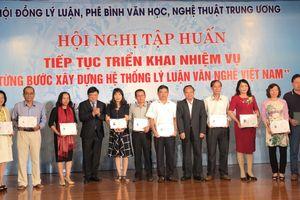 Bế mạc hội nghị tập huấn xây dựng hệ thống lý luận văn nghệ Việt Nam