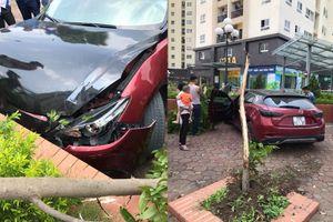 Mazda 3 từng náo loạn Cầu Diễn tiếp tục lãnh hậu quả