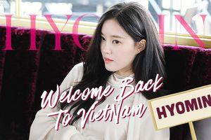 Nếu bạn được quyền quyết định: Đâu là hit từ Hyomin (T-ara) sẽ vang lên vào ngày 28/9?