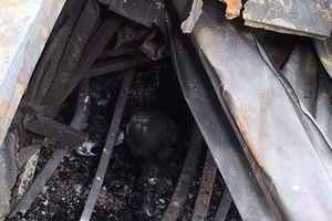 Nghi vấn hai thi thể trong vụ cháy khu trọ cạnh viện nhi là bố mẹ đi chăm con