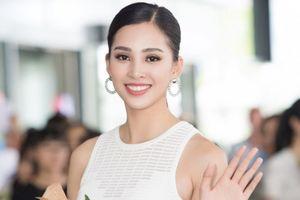 Hoa hậu Trần Tiểu Vy với nụ cười tỏa nắng về thăm gia đình tại Hội An