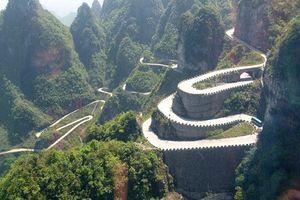 Khám phá cung đường 99 khúc cua nguy hiểm nhất Trung Quốc