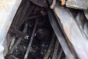 Phát hiện thi thể 2 người lớn trong vụ cháy ở Đê La Thành
