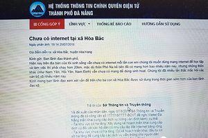 Đà Nẵng: Xóa tình trạng 'trắng hạ tầng cáp quang Intenet' tại huyện Hòa Vang