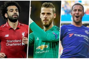 10 cầu thủ có chỉ số 'khủng' nhất Ngoại hạng Anh trong PES 2019