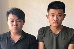 Bắt 2 kẻ chuyên cướp giật phụ nữ đi xe máy trên đường vắng ở Thanh Hóa