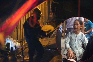 Cháy lớn gần Bệnh viện Nhi Trung ương: Mẹ nạn nhân nhận ra con nhờ chiếc vòng đeo cổ