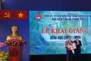 Học viện Cán bộ TP.HCM khai giảng năm học mới