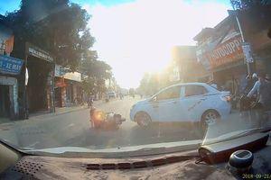 Người phụ nữ may mắn thoát chết sau pha quay đầu bất cẩn của tài xế