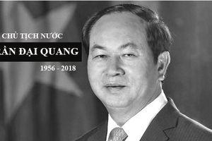 Tổng Bí thư Nguyễn Phú Trọng làm Trưởng ban lễ tang Chủ tịch nước Trần Đại Quang