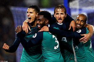 Harry Kane, Lamela ghi bàn giúp Tottenham chật vật giành 3 điểm