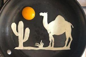 Những bữa sáng nghệ thuật từ trứng dưới bàn tay nam sinh Mexico