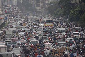 Hà Nội: Chất lượng không khí tại Minh Khai đang xấu nhất trong vài tháng qua